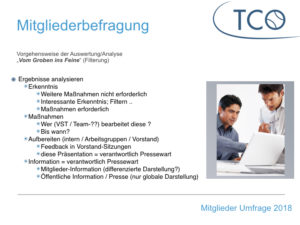 Read more about the article Mitgliederumfrage des TCO ist beendet ..
