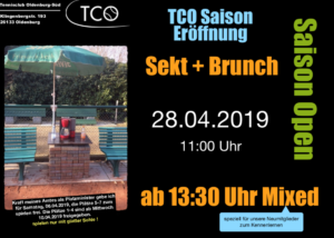 Read more about the article Saisoneröffnung 2019