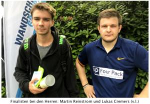 "Turnierberichte ""Autohaus Wandscher Cup""  2019"