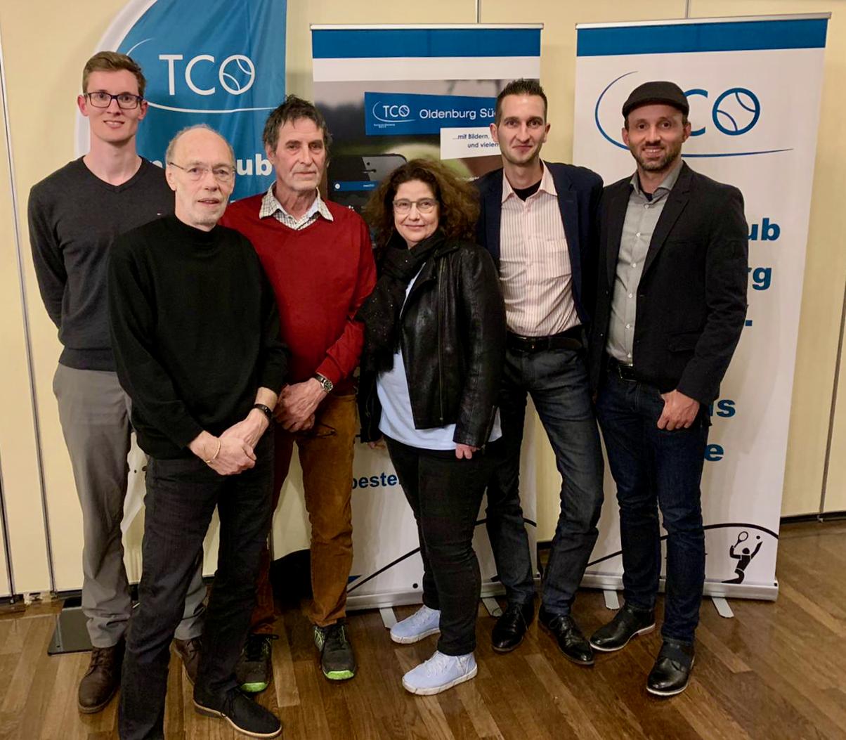 Vorstand des TC Oldenburg-Süd e. V.