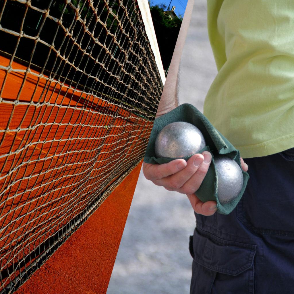 Termine Tennis und Boule