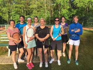 Tennis Mannschaften 6