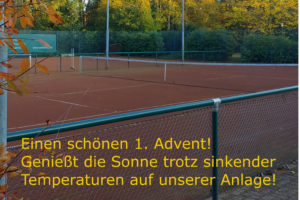 1. Advent = Outdoor-Sport
