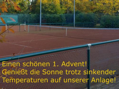 1. Advent = Outdoor-Sport