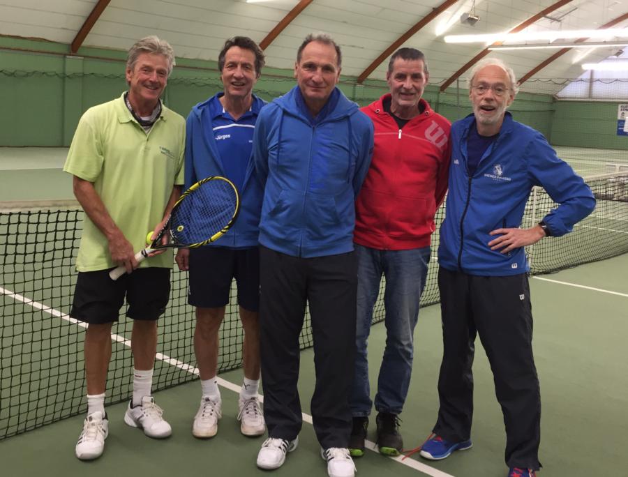 Tennis Mannschaften 4