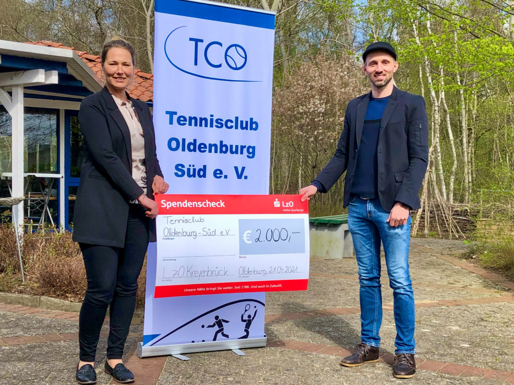 LzO fördert Jugendarbeit des TCO 1